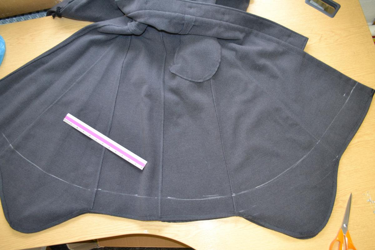 Woman's alterations coat