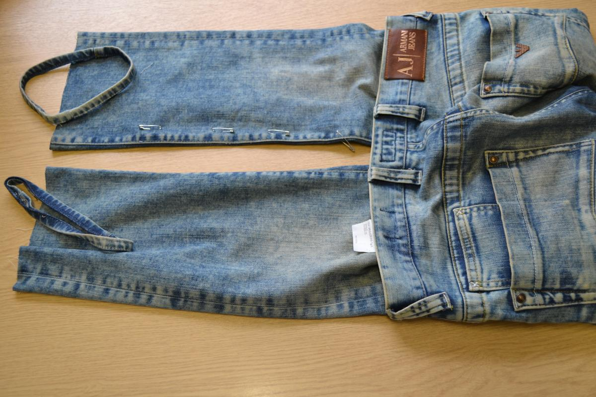 Men's alterations jeans