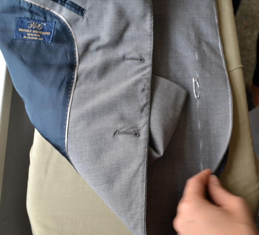 Suit tailoring and alterations