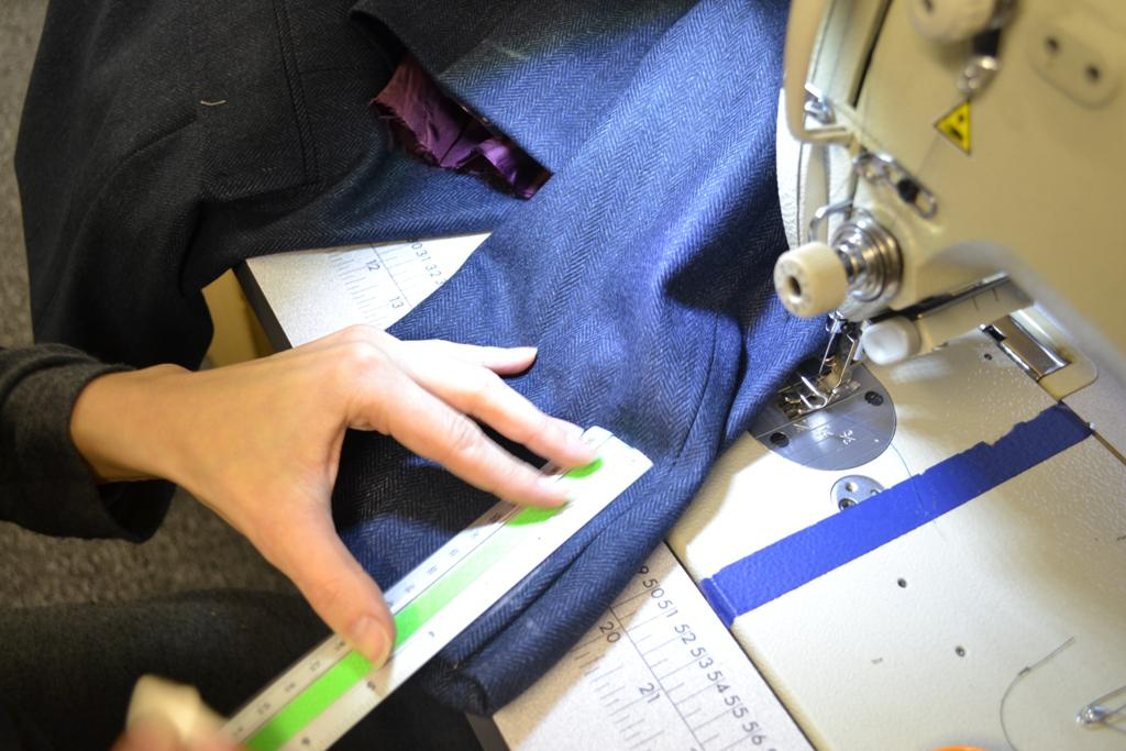 Jacket sleeve alterations