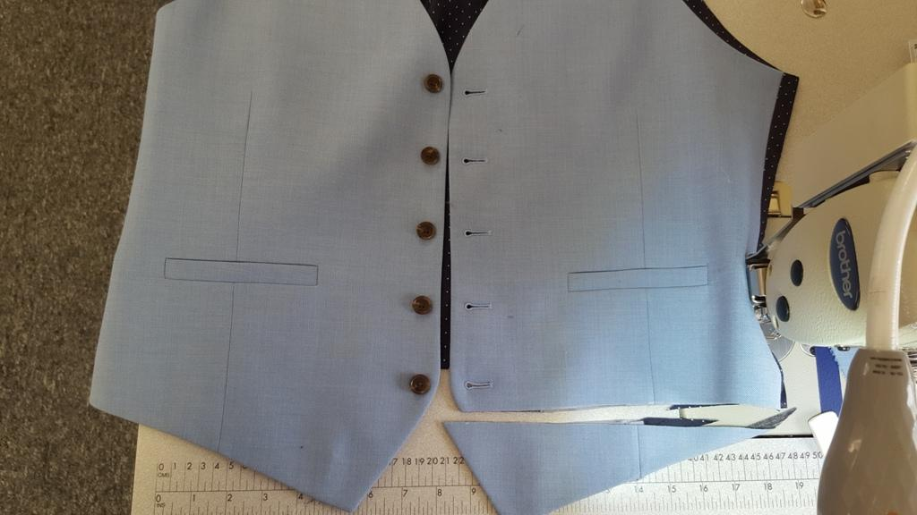 waistcoat alterations and tailoring