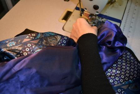 Jacket sleeves alterations