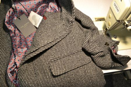 coat alterations and tailoring