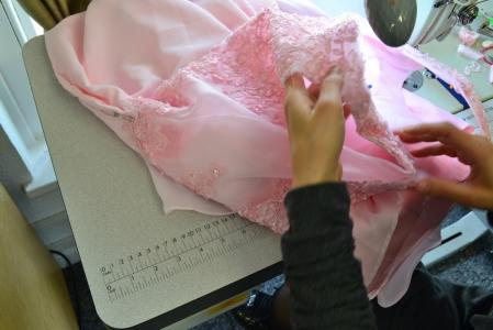 wedding and bridesmaid dress alterations