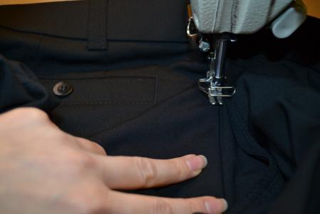 Jacket alterations and tailoring